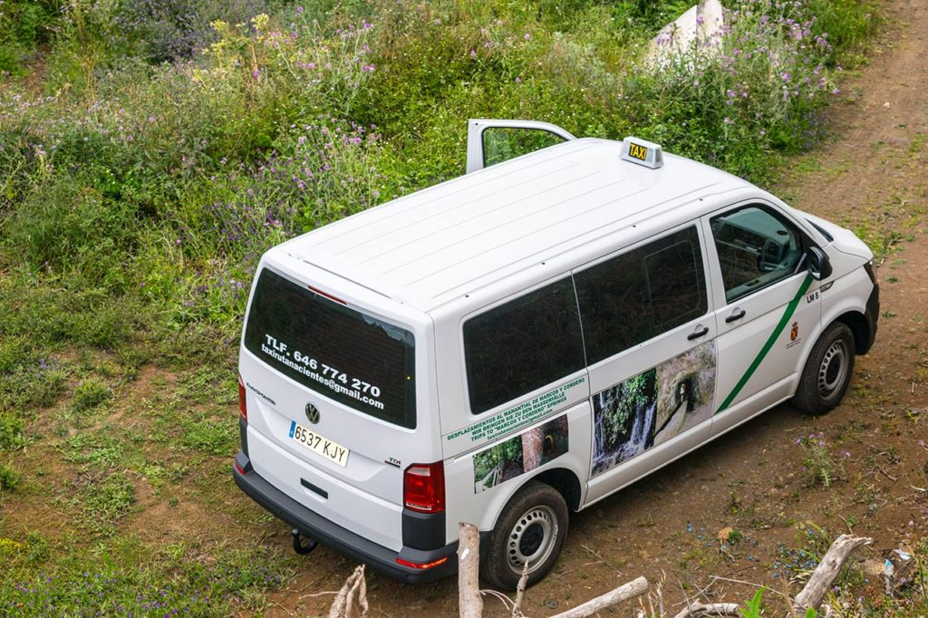 Servicios de taxi en la zona norte de La Palma · Desplazamientos hacia las zonas de senderismo · Islas Canarias
