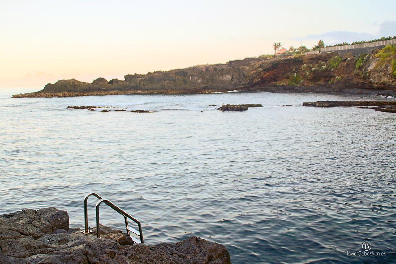 Typische Taxirouten aus dem Norden von La Palma. Von Los Sauces zu El Charco Azul natürlichen Pools · Taxi in La Palma.