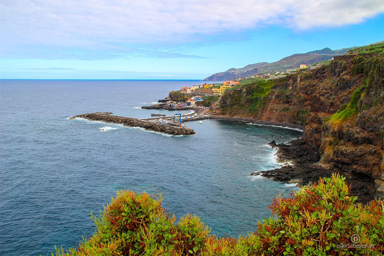 Typische Taxirouten aus dem Norden von La Palma. Von Los Sauces nach El Puerto Espíndola · Taxi auf La Palma.