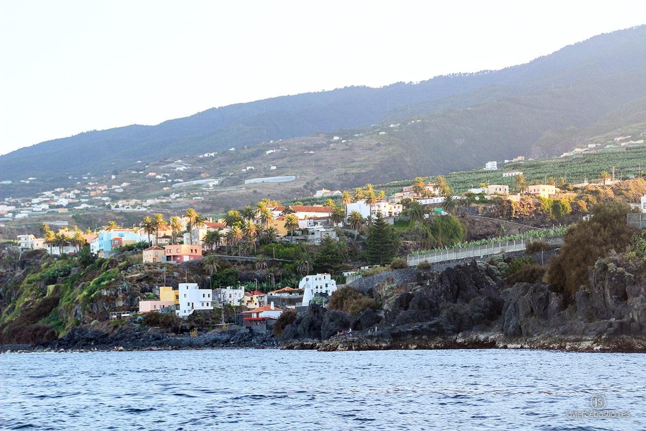 Typische Taxirouten aus dem Norden von La Palma. Von Los Sauces bis La Villa de San Andrés · Taxi auf La Palma.